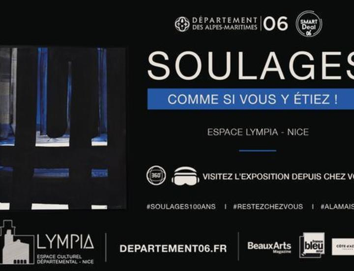 Visite virtuelle exposition Soulages