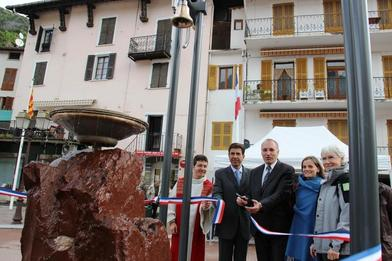 Guillaumes – La fontaine musicale inaugurée