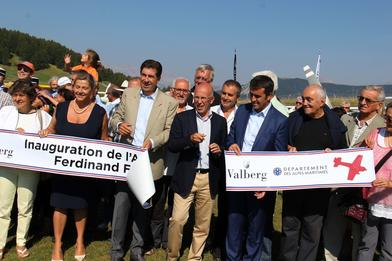 Valberg – L'altisurface Ferdinand Ferber inaugurée